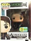 Funko Pop Television! Arrow Malcolm Merlyn SDCC Exclusive FREE POP PROTECTOR