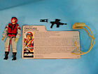GI JOE 1987 CRAZYLEGS COMPLETE WITH FILE CARD