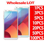 9H 03MM 25D Tempered Glass Screen Protector PET Soft Film For LG G6 Wholesale