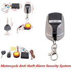 Motorcycle Anti-theft Alarm Security System Remote Control Engine Start Kit