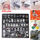 42pcs Domestic Sewing Machine Presser Foot Set for Brother Singer Bernina Janome