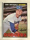 1967 Topps 55 Don Drysdale NM very sharp card great book