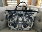 Alexander McQueen Black And White Print Large Tote