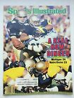 September 22 1986 Sports Illustrated Michigan 24 Notre Dame 23 Excellent