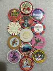 CASINO CHIPS  TOTAL OF 13 CASINO CHIPS