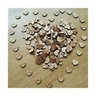 100pcs Rustic Wooden Love Heart Wedding Table Scatter Decoration Crafts NEW