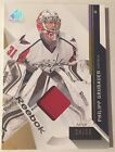 2014-15 SP Game Used #45 Philipp Grubauer Patch Card 24 50!