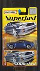 VHTF 2005 MATCHBOX SUPERFAST 6 BLUE FORD MUSTANG GT CONCEPT