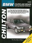 Repair Manual Chilton 18300 fits 70-76 BMW 2002