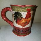 Certified International Tuscan Rooster Mug 16-Ounce Pamela Gladding