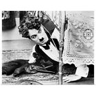 Poster Print Wall Art entitled Charlie Chaplin 1889 1977 actor and comedian
