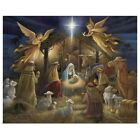 Poster Print Wall Art entitled Nativity