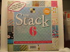 DCWV The Stack 6 12X12 180 Printed Paper Sheets Scrapbooking Cards WOW