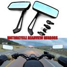 MOTOECYCLE Rectangle BIKE MOTORCYCLE REARVIEW SIDE MIRRORS FOR 8MM10MM