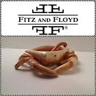 """Fitz & Floyd """"Seaboard"""" Crab Butter Server & Spoon - New in Box -RARE"""