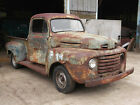 1949 FORD F1 PICK UP TRUCK ROLLING SHELL FOR PROJECT HOT ROD CUSTOM RAT PATINA
