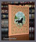Black Beauty by Anna Sewell Illustrated New Sealed Leather Bound Collectible Ed