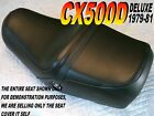 CX500D Deluxe 1979-81 Replacement seat cover for Honda CX 500 CX500 192