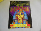 williams KING TUT  SHUFFLE ALLEY   ARCADE GAME  FLYER