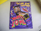 PARTY ZONE   BALLY  PINBALL ARCADE GAME FLYER