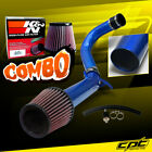 For 11-19 Chrysler 300 3.6L V6 Blue Cold Air Intake + K&N Air Filter