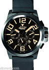 INGERSOLL IN4107BBOR Bison No 42 Black with Orange Accents Watch NEW! FAST SHIP!