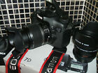 Canon EOS 7D 180 MP Digital SLR Camera WITH THREE LENSES