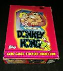 1982 TOPPS DONKEY KONG UNOPENED 36 PACK WAX BOX RIGHT FROM CASE!