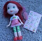 STRAWBERRY SHORTCAKE BERRY PRETTY 10 POSEABLE DOLL CLOTHES stickers LOT