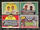 1959 Topps Vintage Baseball 719 Card Lot--Mantle Mays