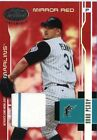 Brad Penny Florida Marlins Leaf Certified materials Mirror Red 2003 67 243 250