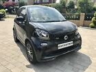 2017 Smart Fortwo coupe 09 turbo 109 Brabus Premium 2dr Auto petrol Black