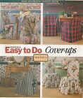 WAVERLY Windsor Brewer Folding Ladder STANDARD CHAIR COVERS EASY DO SEW Patterns