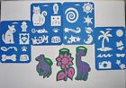 Lot of Simply 27 and Chunky 3 Foam Stamps Animals Beach Celestial NEW