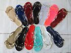 New Women BARCELONA Jelly Sandals Flip Flop Flats Slip On rockstud by ANN MORE