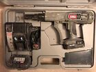 Senco DS275-18 Cordless Screwdriver Drywall Screwgun Duraspin, Complete Set