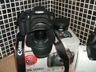Canon EOS 1200D 120MP Digital SLR Camera Black WITH THREE LENSES