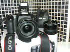 Canon EOS 30D 82 MP Digital SLR Camera WITH THREE LENSES PROFESSIONAL USE