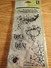 Inkadinkado Clear Stamps All Hallows Eve Halloween 98627 New