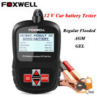 Foxwell 12v 24v Car Battery System Diagnostic Analyzer Tester Tool Printer