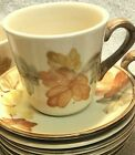 6 Franciscan USA October Cups And Saucers #2