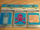 Provo Craft Cuttlebug Cut  Embossing Die Halloween Sign Beware RIP Set of 3 New