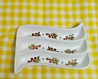 California Pantry 2003 by Julia Junkin 3-Section Condiment Serving Dish