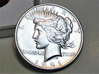 1921 PEACE SILVER DOLLAR GEM BU US COIN RARE BEAUTY