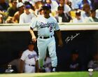 Tommy Lasorda Autographed 16x20 LA Dodgers Yelling Photo- JSA Authenticated