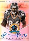 RARE SHANNON SHARPE SIGNED PANINI SPECTRA HALL OF FAME CARD FOOTBALL HOF AUTO #1