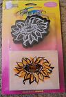 Posh Impressions Dees Duets Rubber Stamp Set Sunflower