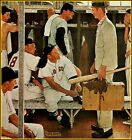 Norman Rockwell: The Rookie, Vintage Old Art Print