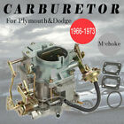 Carburetor For 1966 1973 Dodge Mopar Plymouth Carter 273 318 Engine Manual Choke