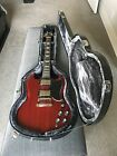 Epiphone SG G-400 Electric Guitar, Right Handed with Coil Splitting, Cherry Red
